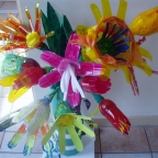 action-on-disability-recycling-project_flowers-from-drinks-bottles