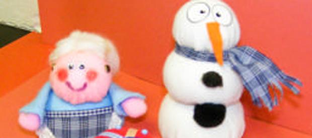Christmas Polyball Characters