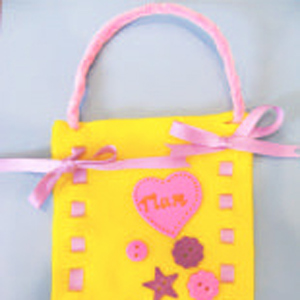 Felt Purse for Mum