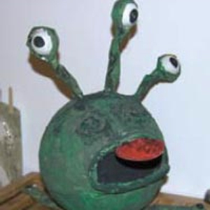 Craft Sheet – Bug Eyed Monster