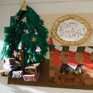 Craft Sheet – Festive Fireside Display