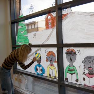 Craft Sheet – Festive Window