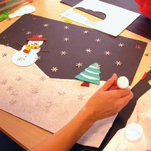 Craft Sheet – Snow Scene
