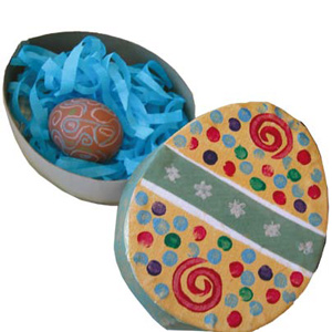 Craft sheet easter egg gift box play resource craft sheet easter egg gift box negle Choice Image