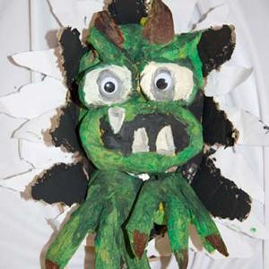 Craft Sheet – Gaping Ghoul