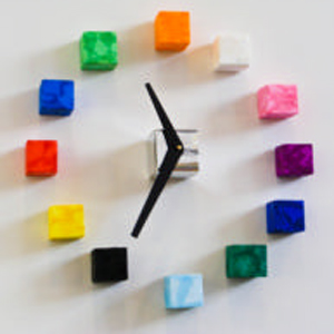 Polyshape Wall Clock