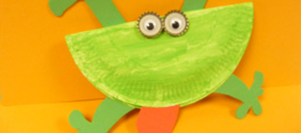 Paper Plate Frog  sc 1 st  Play Resource & Paper Plate Frog - Play Resource