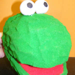 Foam Block Puppet