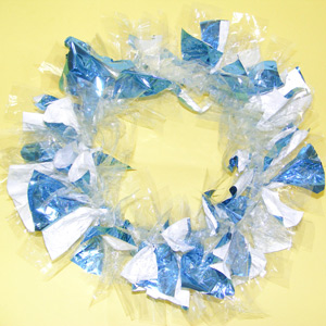 Crystal Scrap Wreath