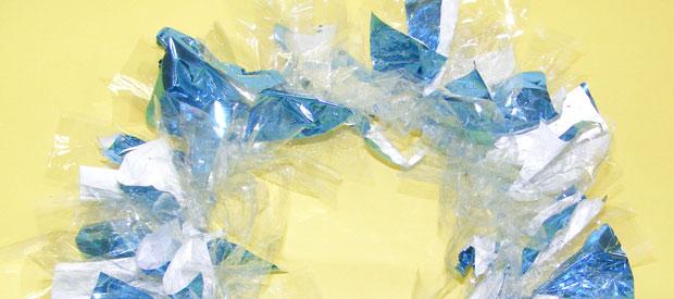 Crystal Scrap Wreath