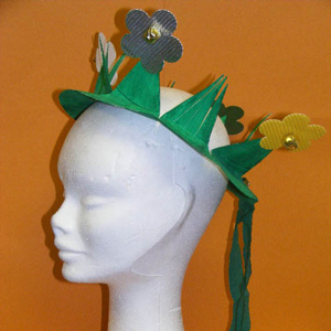 St Patrick's Day Jingle Hat