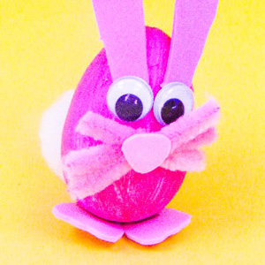 Easter Bunny Poly Egg