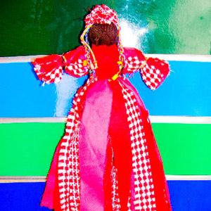 Ethnic Rag Doll