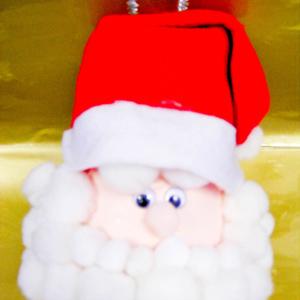 Christmas Santa Head