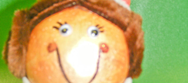 Mrs Claus Flower Pot Character