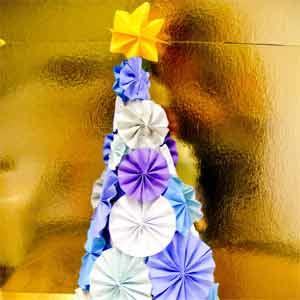 Paper Christmas Tree Idea