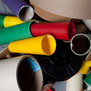 spools cones & tubes
