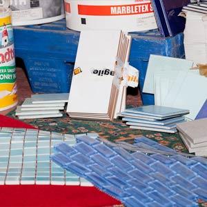 tiles & paint