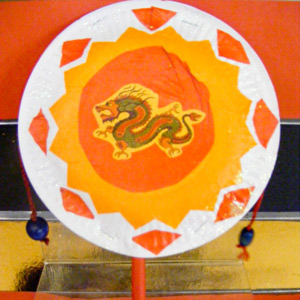 Chinese New Year Rattle Drum