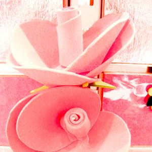 Valentines Idea Foam Roses