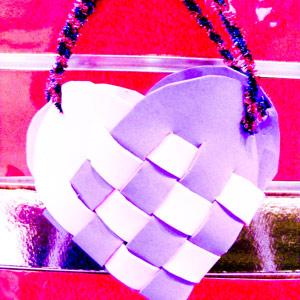 Valentines Idea Heart Bag