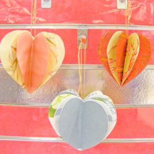Valentines Idea Paper Hearts