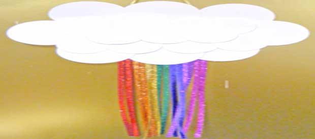 St Patrick's Rainbow Cloud