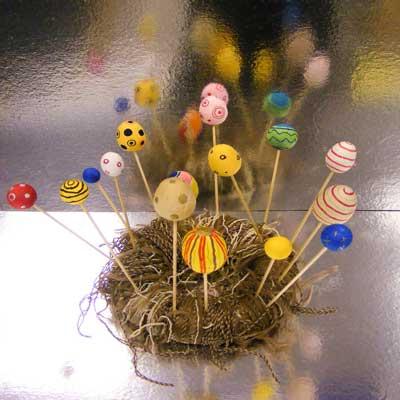 Easter Paper Egg Nest
