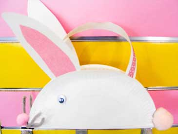 Easter Paper Plate Bunny
