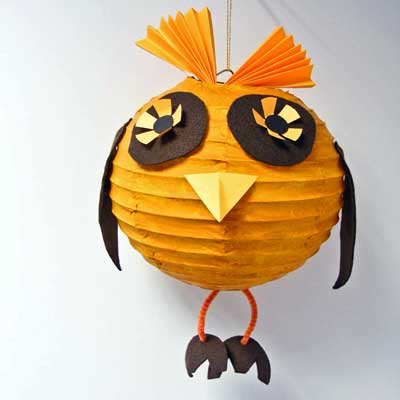 Lampshade Owl