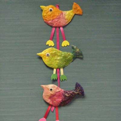 Pretty Paper Birds