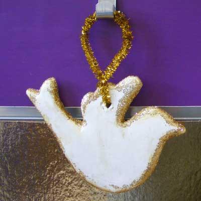 Model Magic Dove Decoration