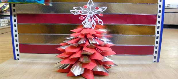 Paper Cone Christmas Tree