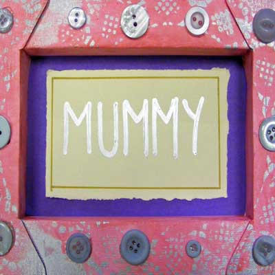 Mother's Day Canvas Frame