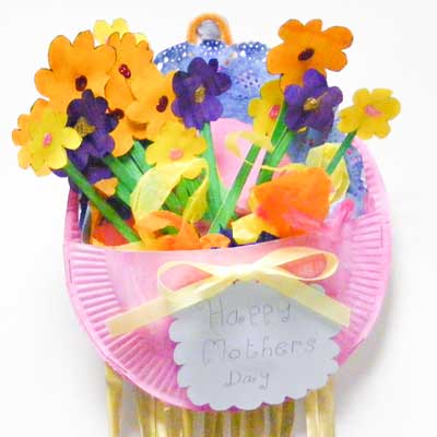 Mother's Day Flower Basket