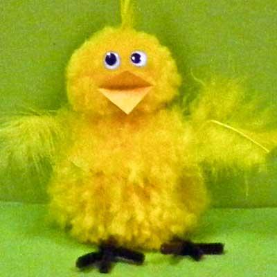 Easter Pom Pom Chick