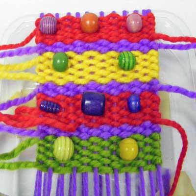 Simple Weaving Craft Sheet