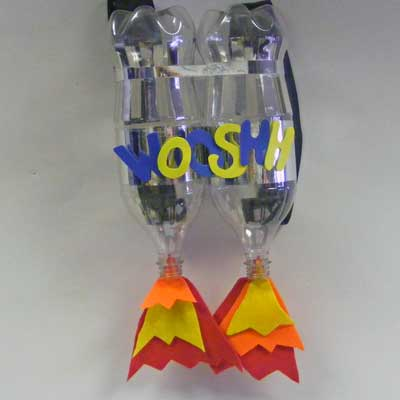 Scrap Bottle Jet Pack