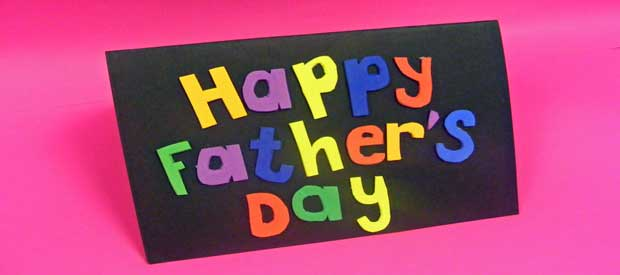 Pop Up Fathers Day Card
