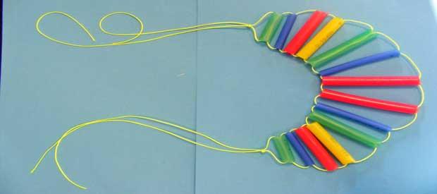 St.Patrick's Day Rainbow Necklace