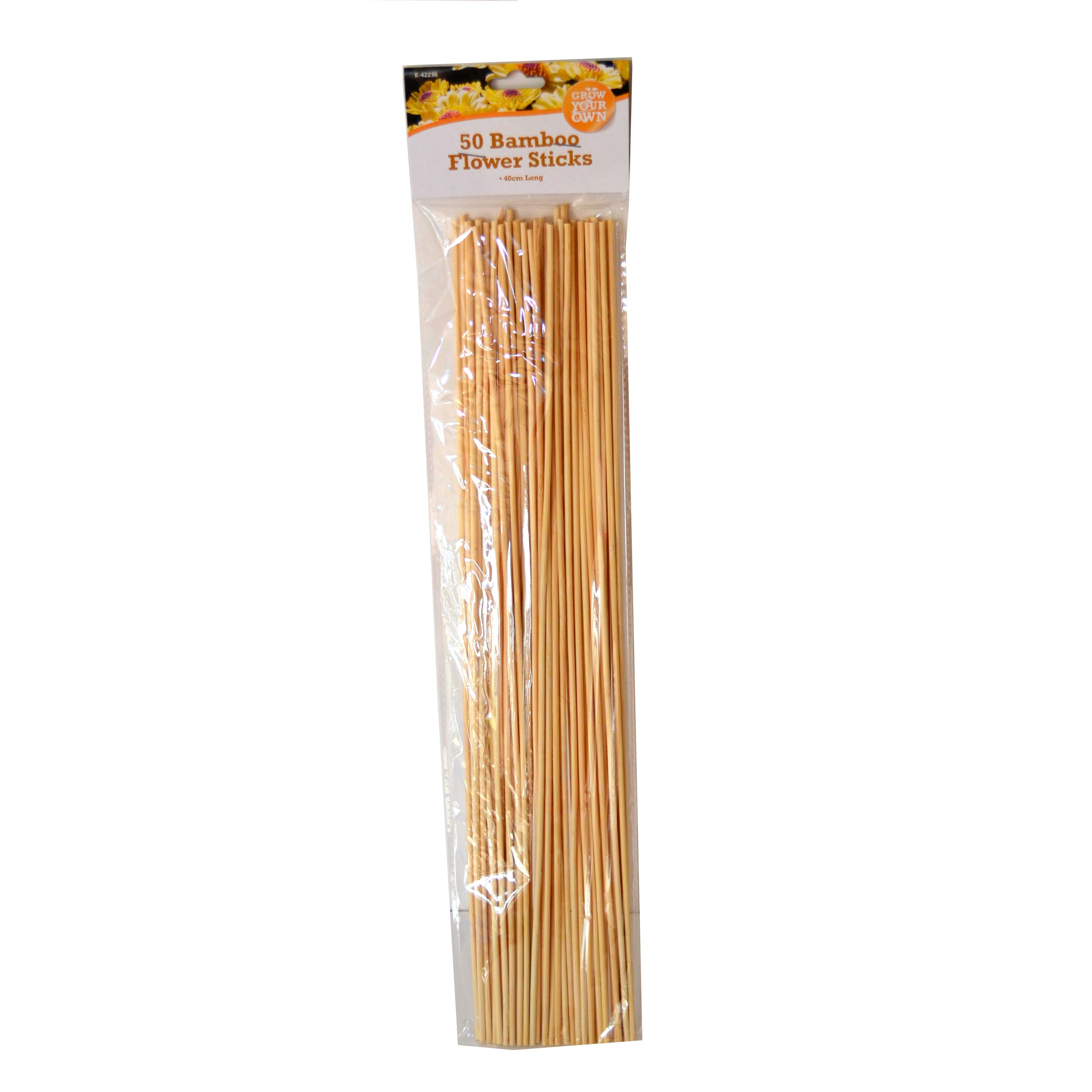 Bamboo growing sticks 50 play resource for Where to buy bamboo sticks for crafts
