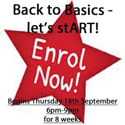 Back to Basics – Let's StART! Enrol now!