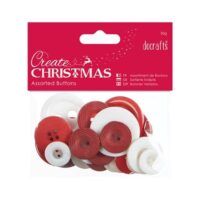 christmas buttons 50g