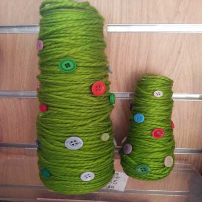 WOOLLEN CHRISTMAS TREES