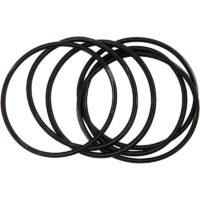 spring bracelets black