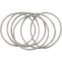spring bracelets silver