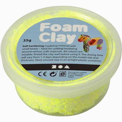 foam-clay-neon-yell