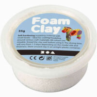 foam-clay-white