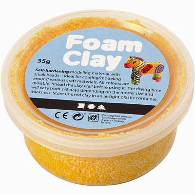foam-clay-yellow