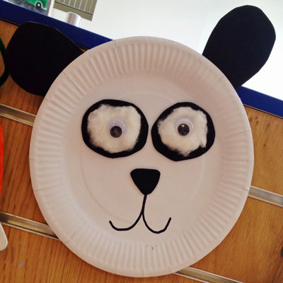 PAPER PLATE PANDA & paper plate Archives - Play Resource